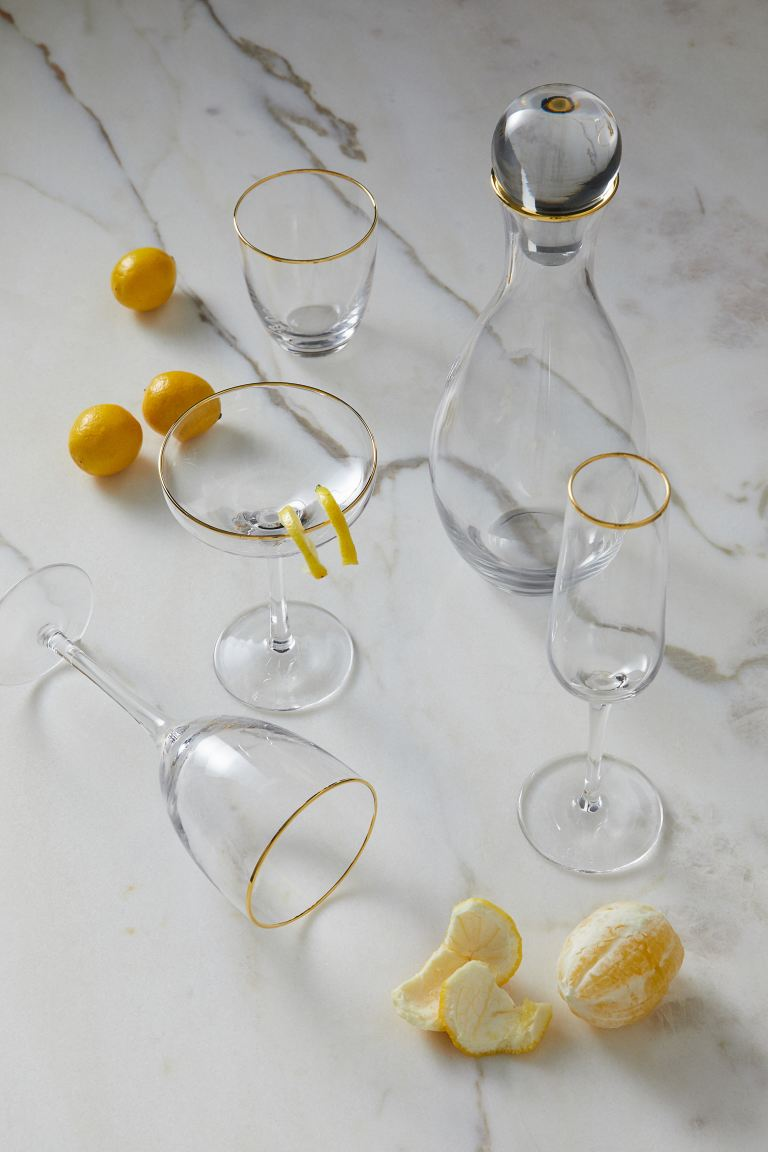 Carafe en verre transparent - Verre transparent - Home All | H&M CA