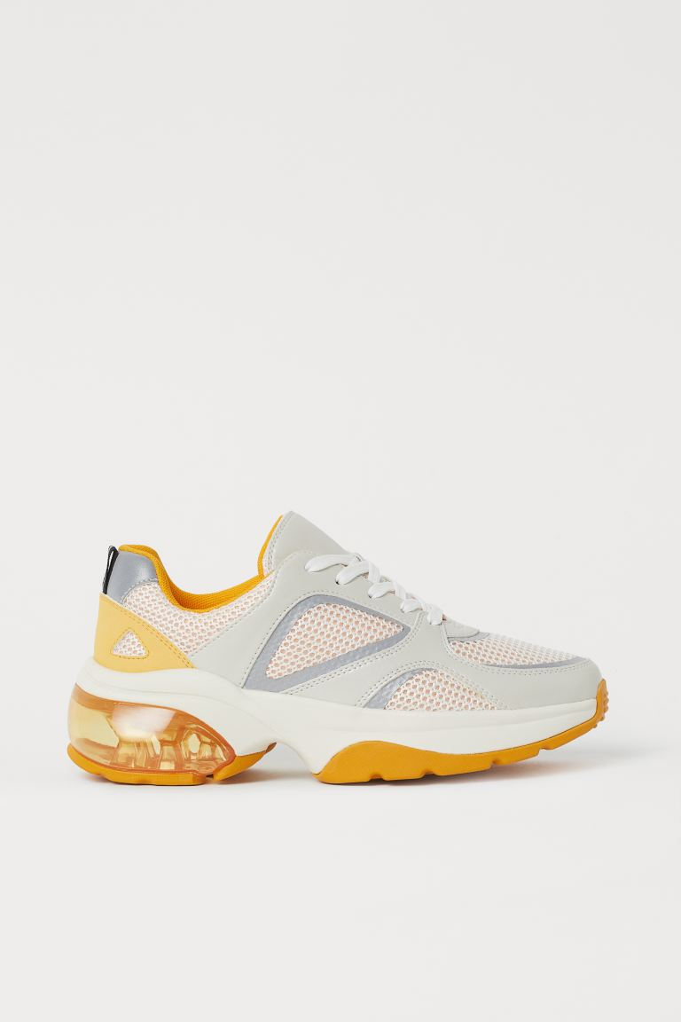 Sneaker - Gelb/Weiß - Ladies | H&M AT