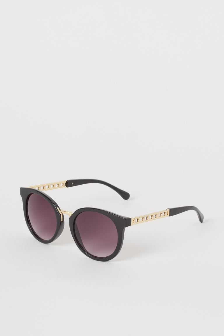 Chain Detail Sunglasses