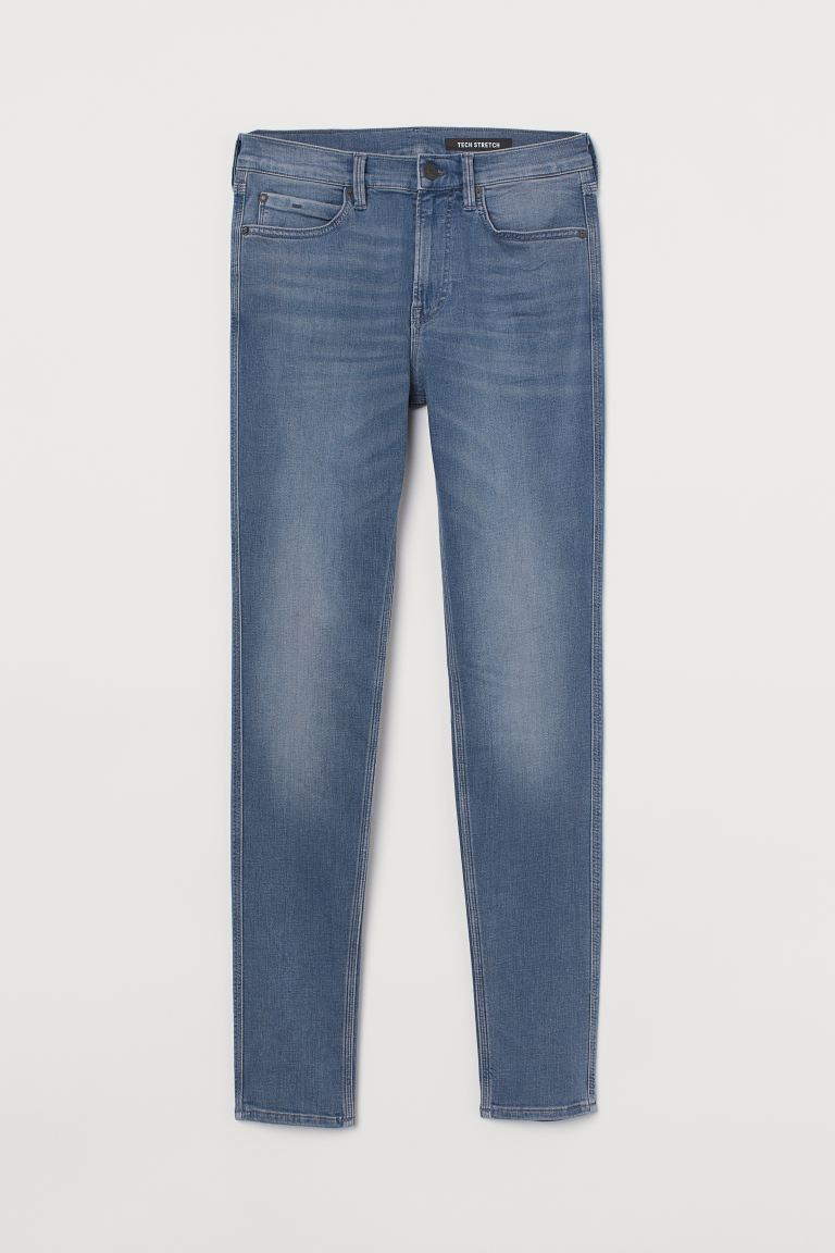 Tech Stretch Skinny Jeans - Azzurro - UOMO | H&M IT