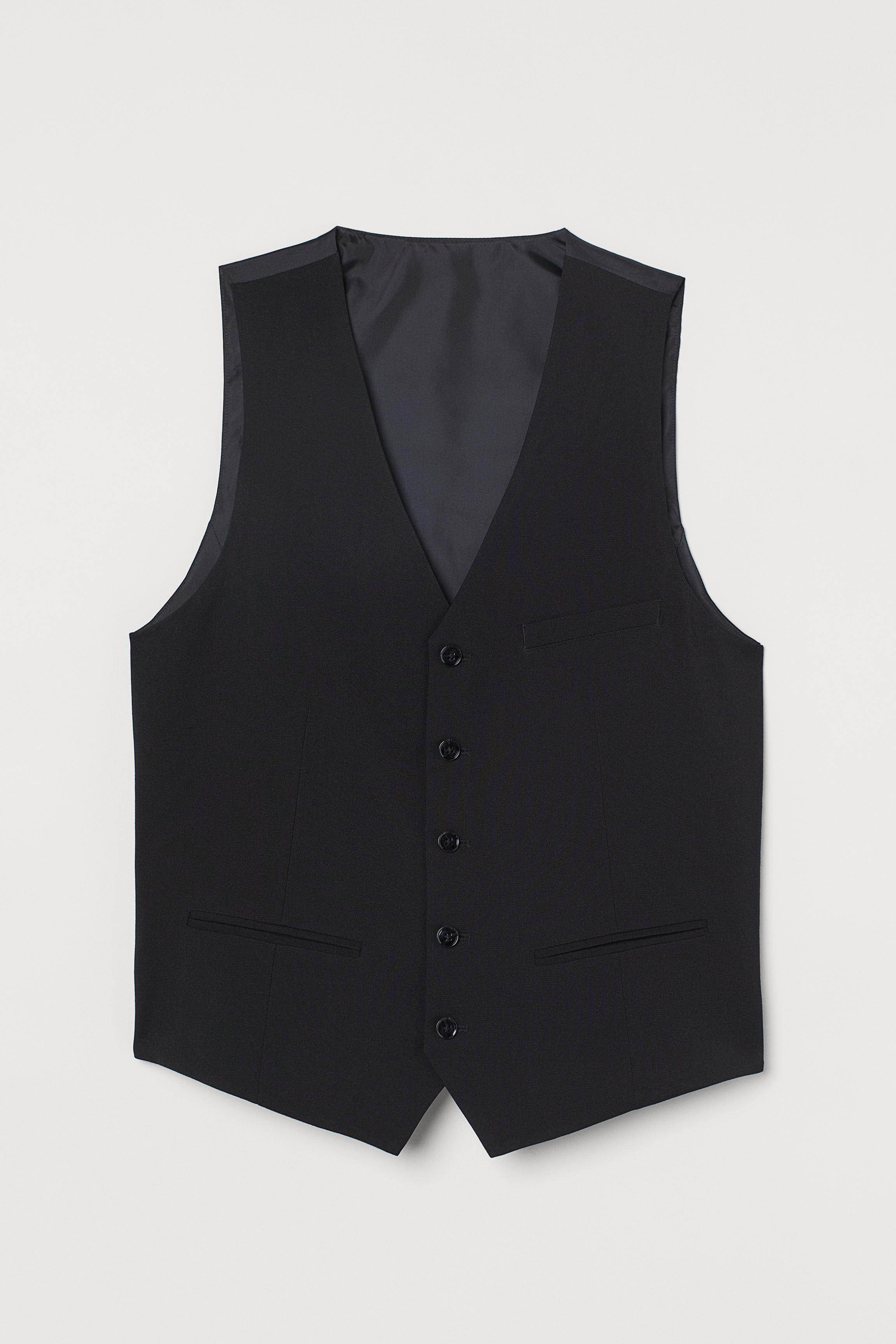 Slim Fit Suit Vest