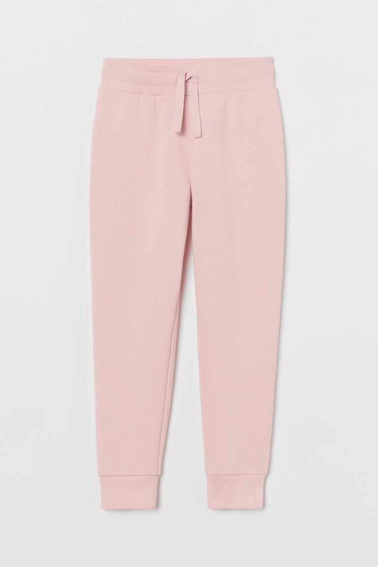 Joggers - Light pink/Love - Kids | H&M US