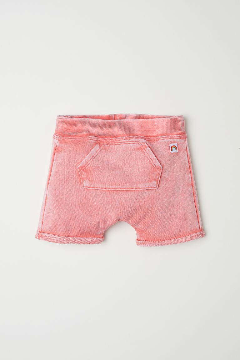 Shorts in felpa - Rosa corallo - BAMBINO | H&M IT