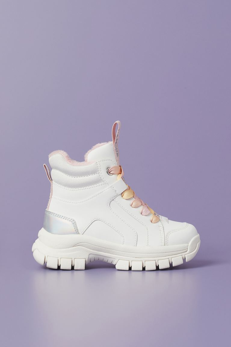 Warm-lined High Tops - White - Kids | H&M US