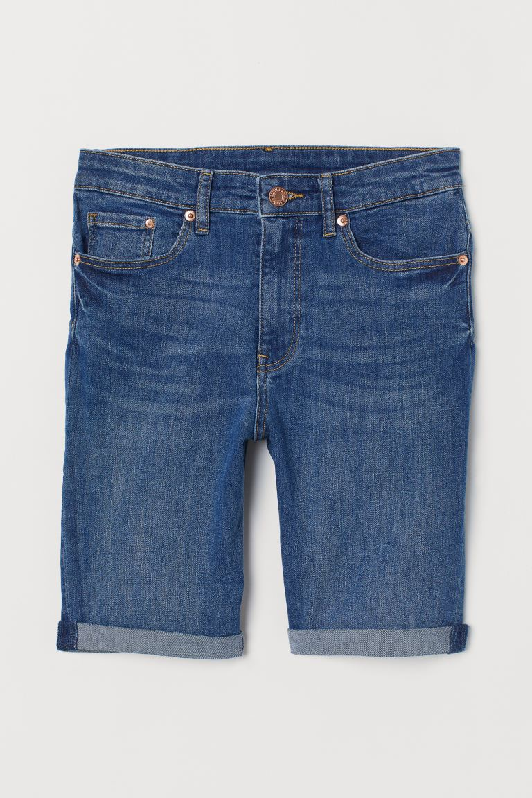 Shorts in denim - Blu - DONNA | H&M CH