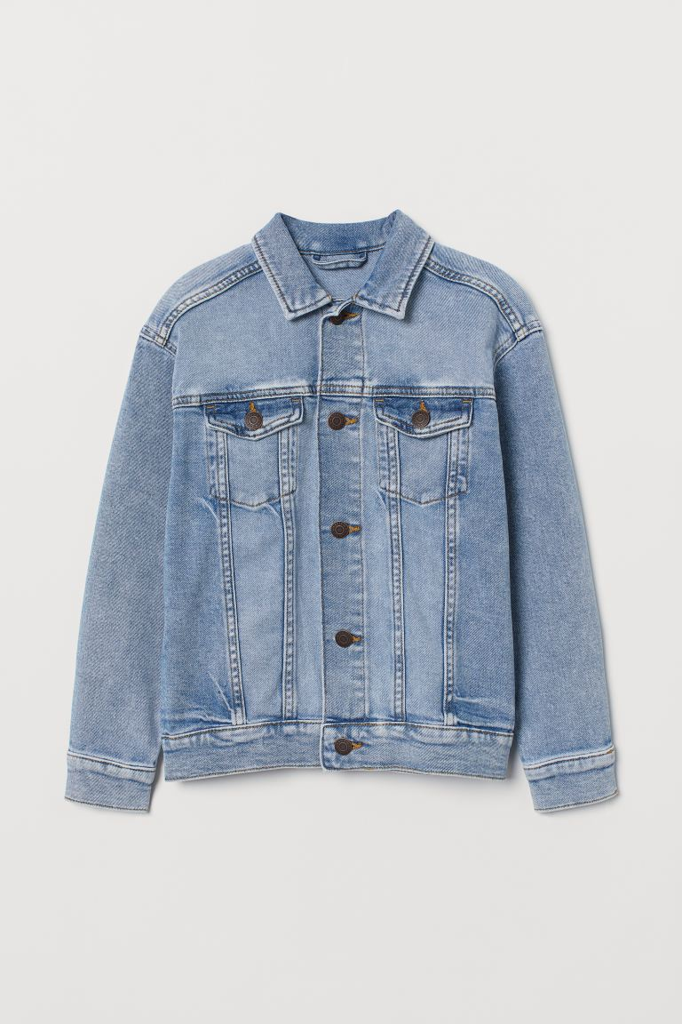 Denim jacket - Light denim blue - Kids | H&M GB