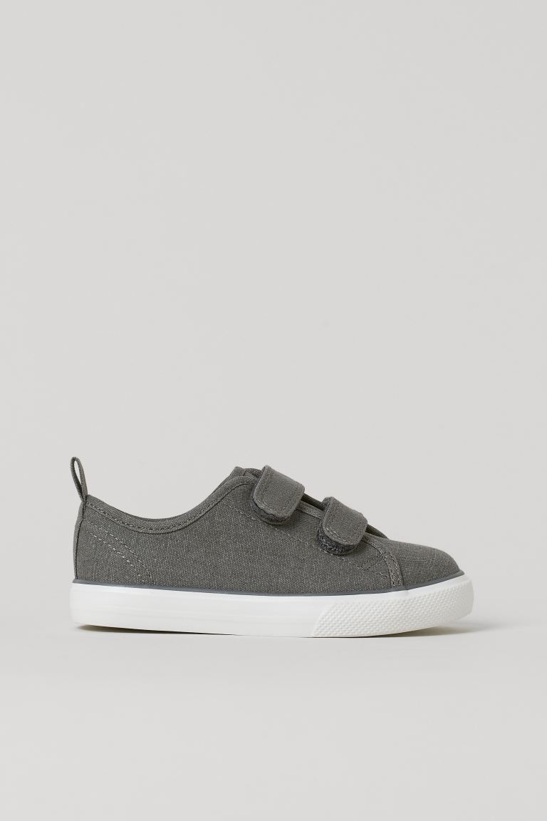 Canvas trainers - Dark grey - Kids | H&M GB