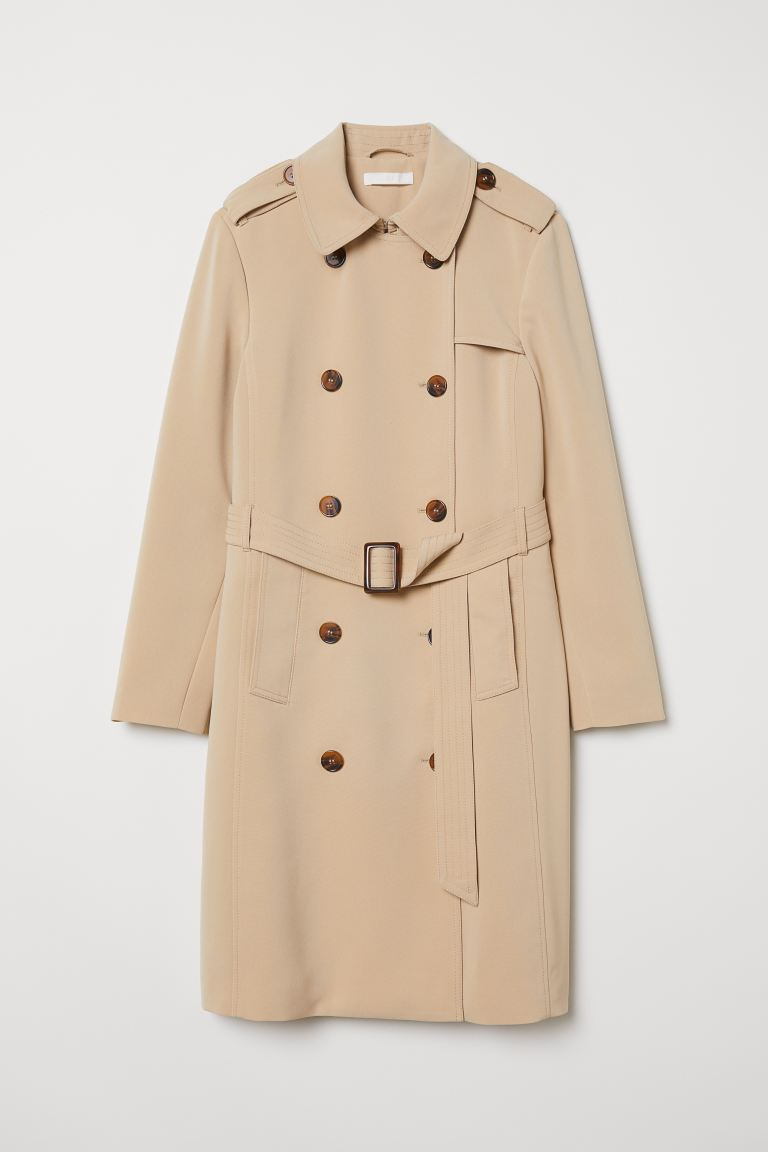 Trenchcoat - Beige - Ladies | H&M IE