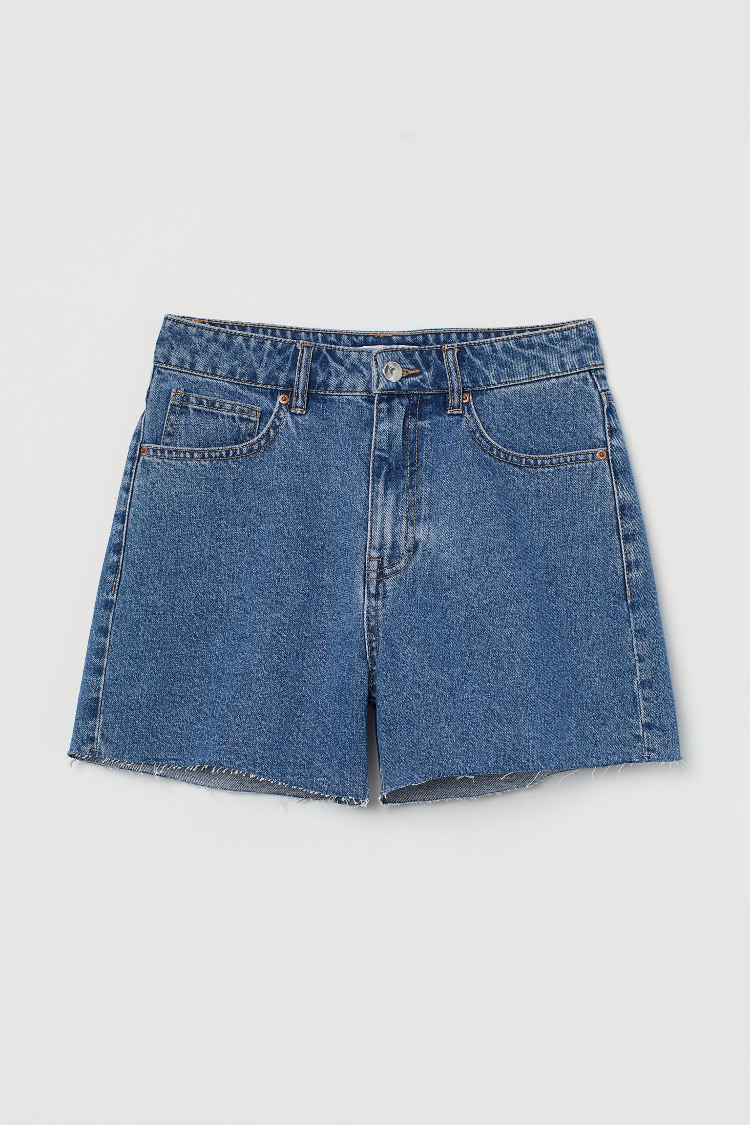 Denim shorts High Waist h&m