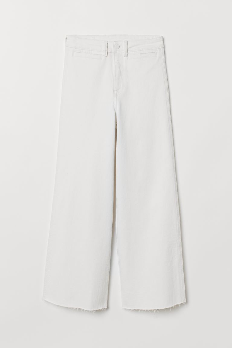 Culotte High Ankle Jeans - Naturweiß - Ladies | H&M AT