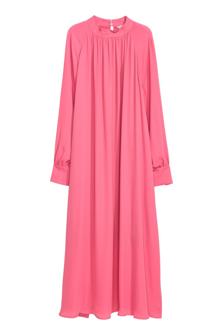 Chiffon dress - Cerise - Ladies | H&M GB