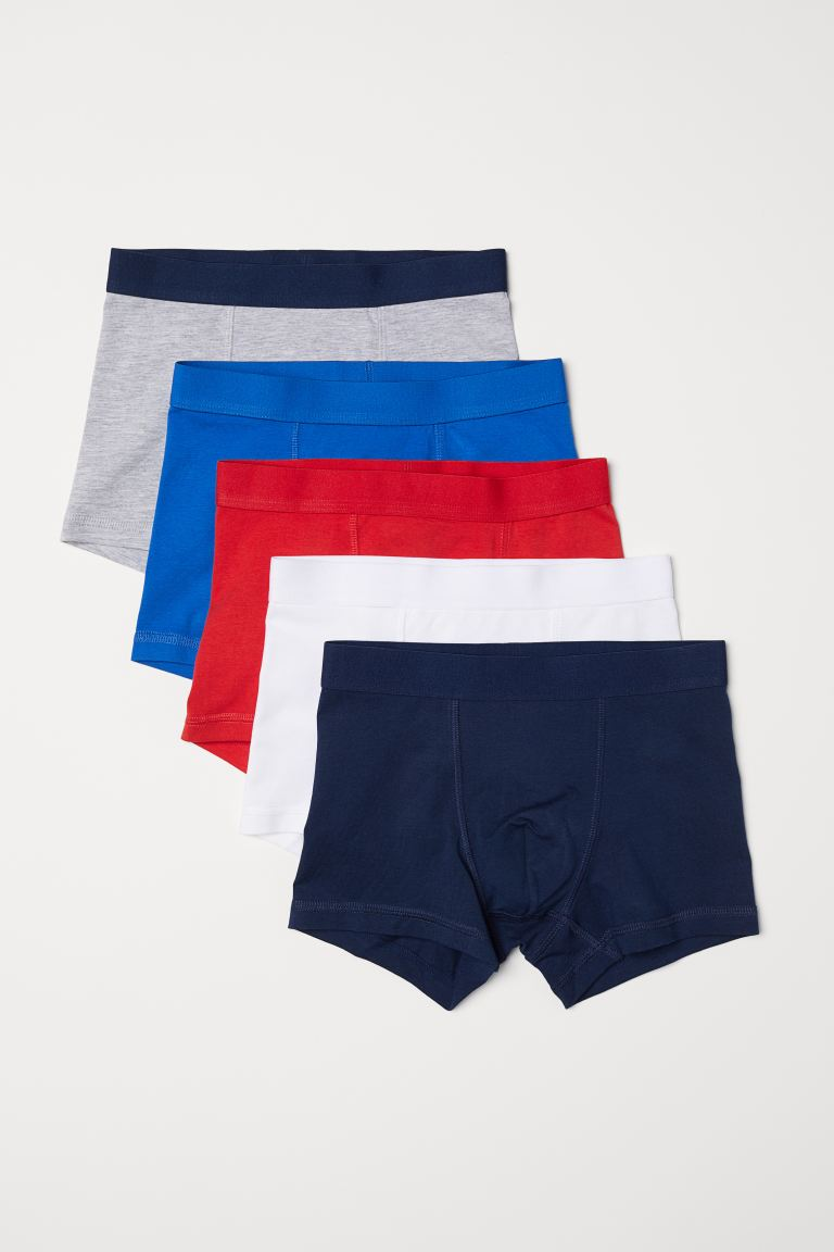 5-pack boxer shorts - Red - Kids | H&M