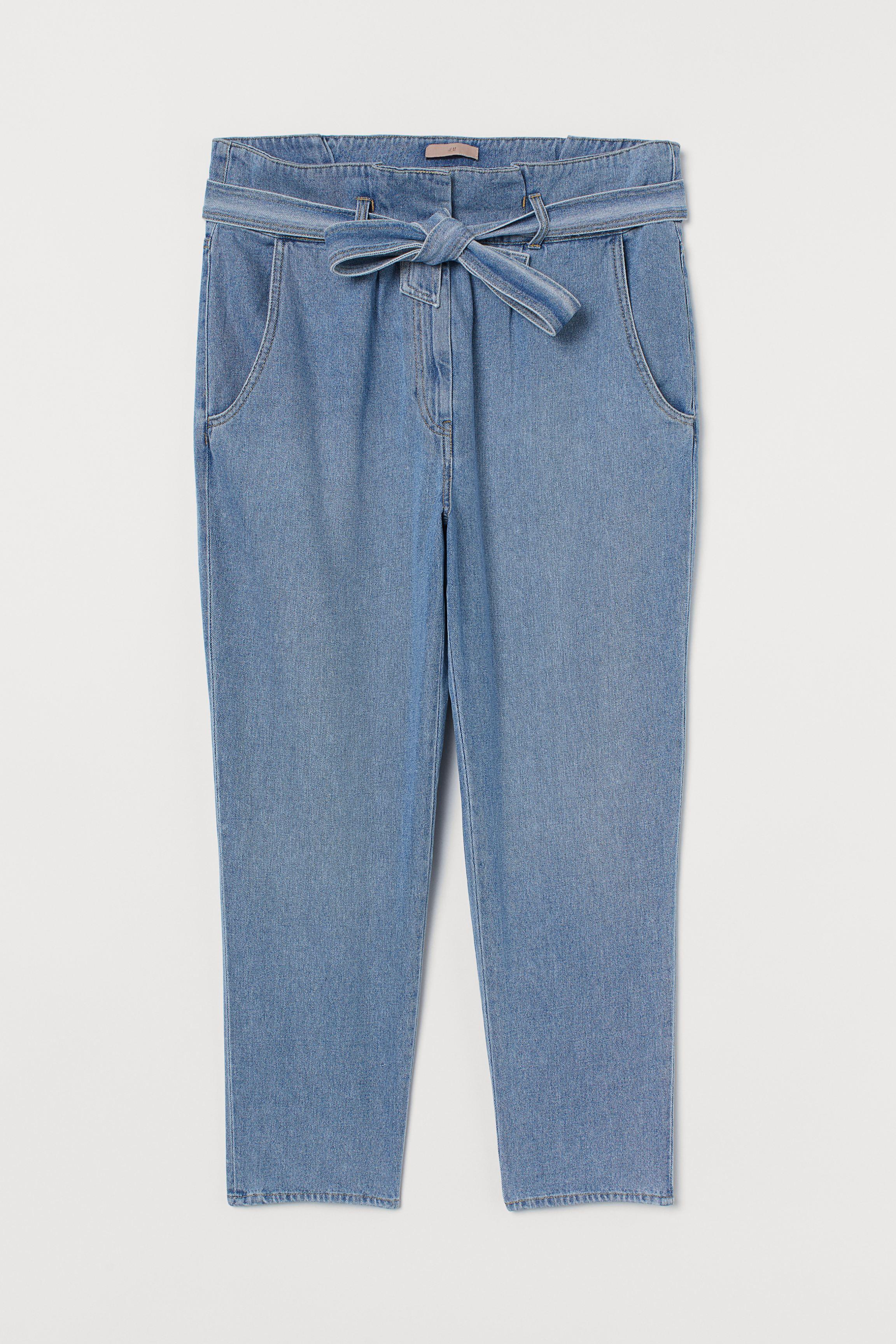 H&M+ Paper-bag Jeans