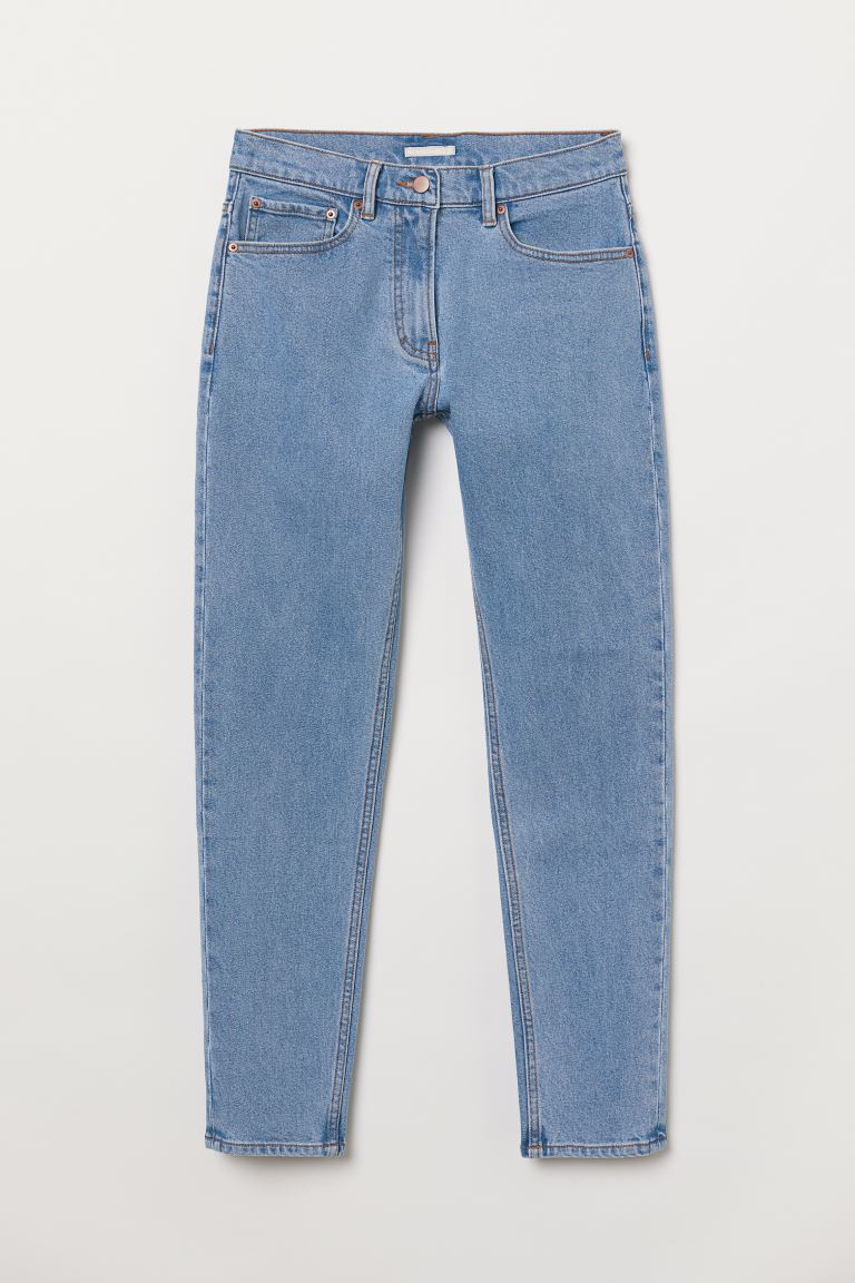 High Ankle Jeans - Light denim blue - Ladies | H&M US
