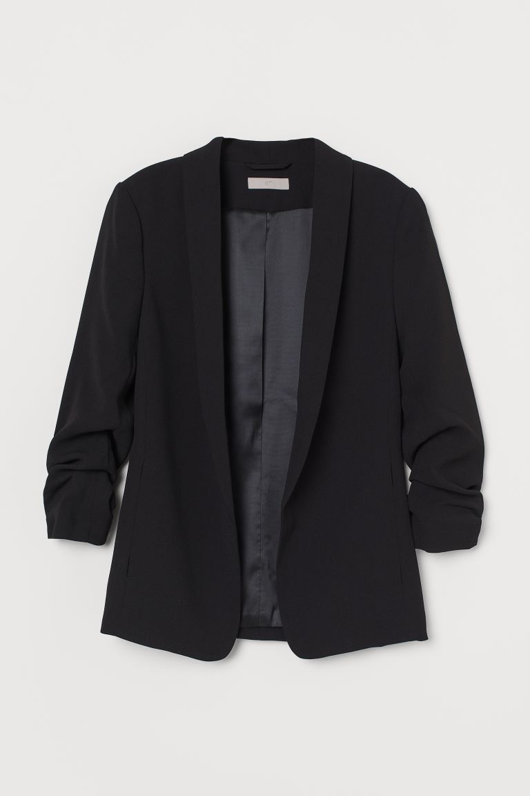 Shawl collar jacket - Black - Ladies | H&M