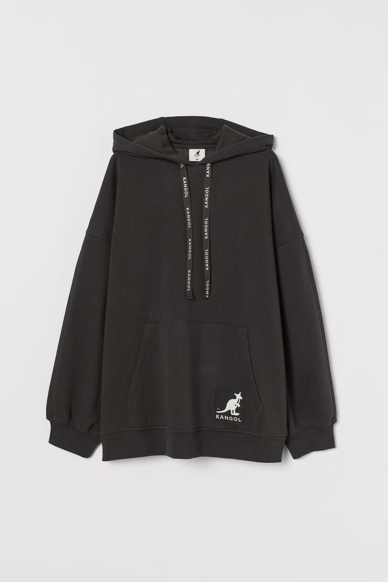 Oversized hoodie - Black - Ladies | H&M GB