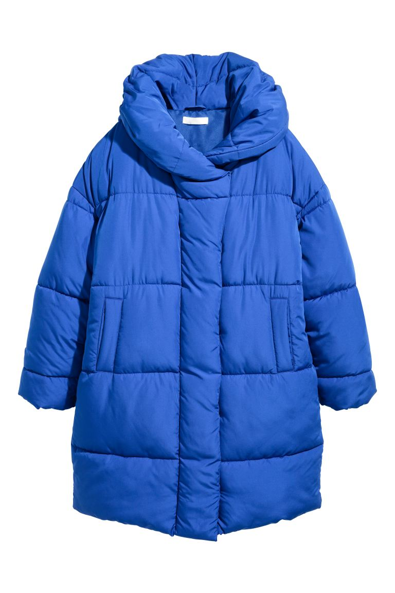 Padded jacket - Cornflower blue - Ladies | H&M GB
