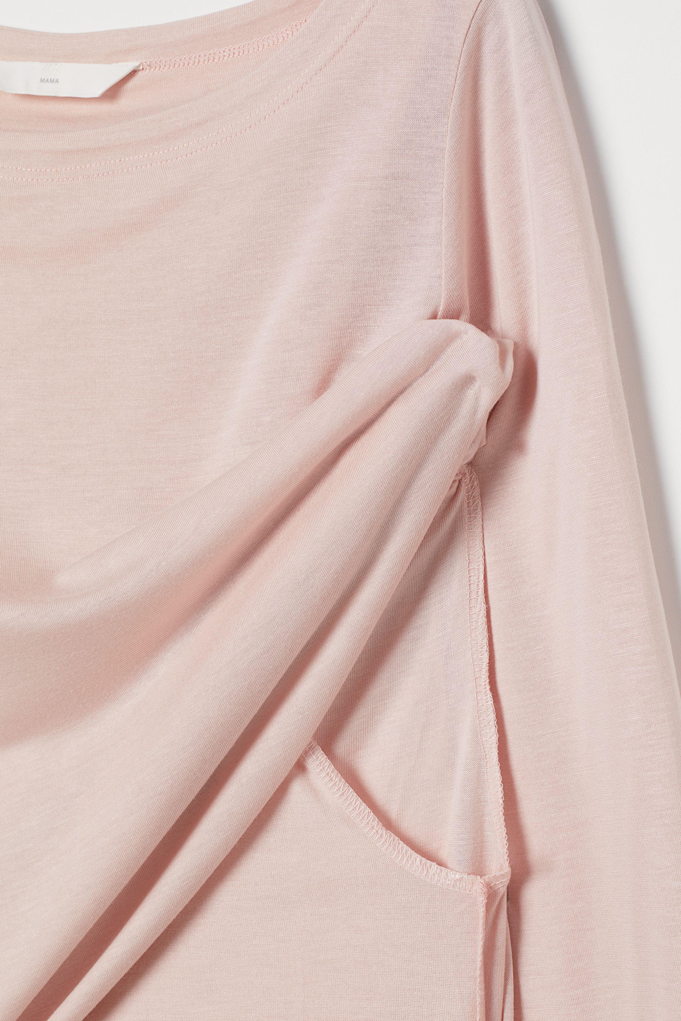 MAMA Long-sleeved Nursing Top
