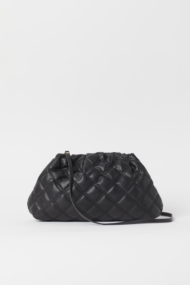 Quilted Shoulder Bag - Black - Ladies | H&M US