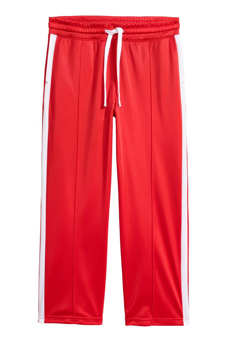Sports trousers - Bright red - Ladies | H&M GB