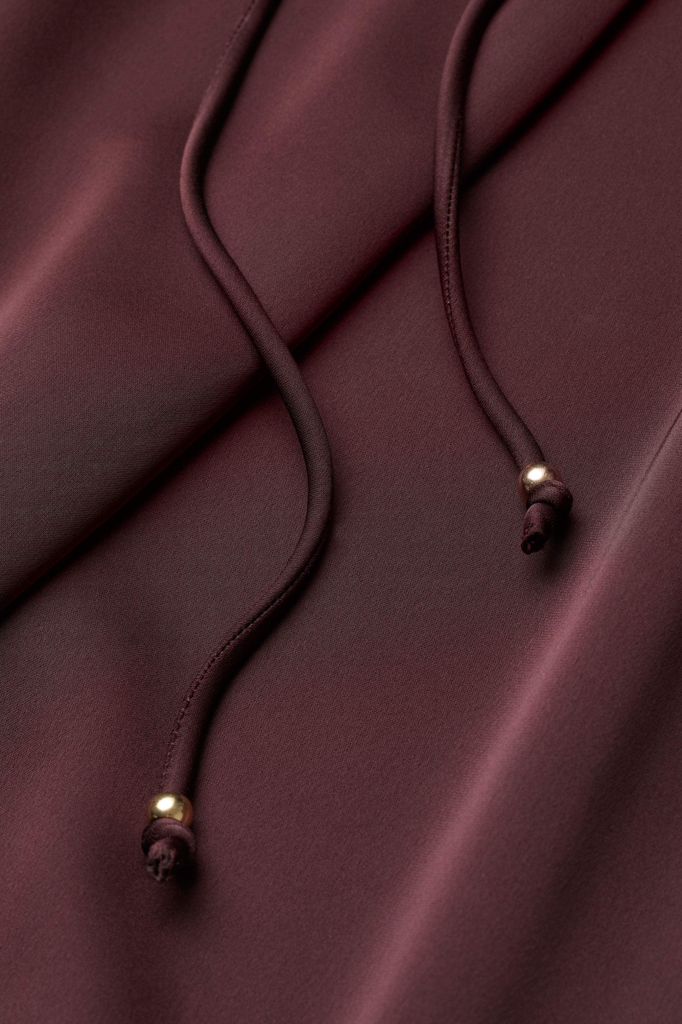 H&M+ V-neck Satin Dress