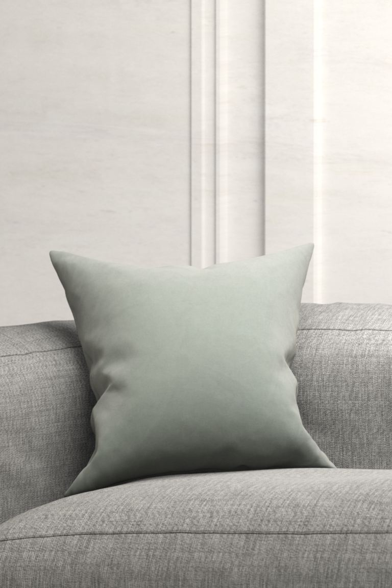 Cotton Velvet Cushion Cover - Pistachio green - Home All | H&M US
