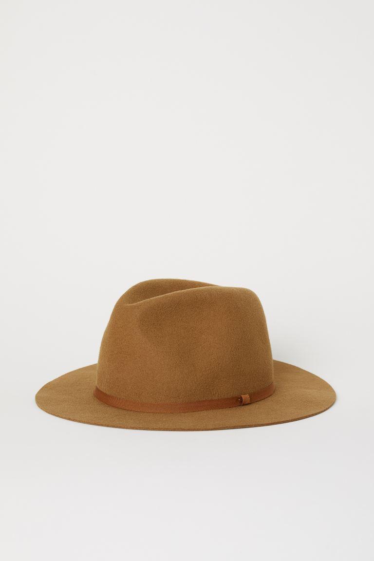 Keçeli şapka Deve Tüyü Erkek H M Tr