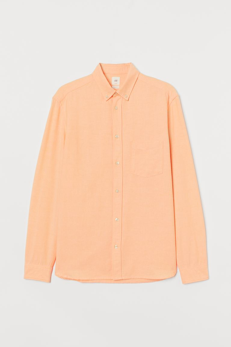 Oxford shirt Regular Fit - Apricot - Men | H&M