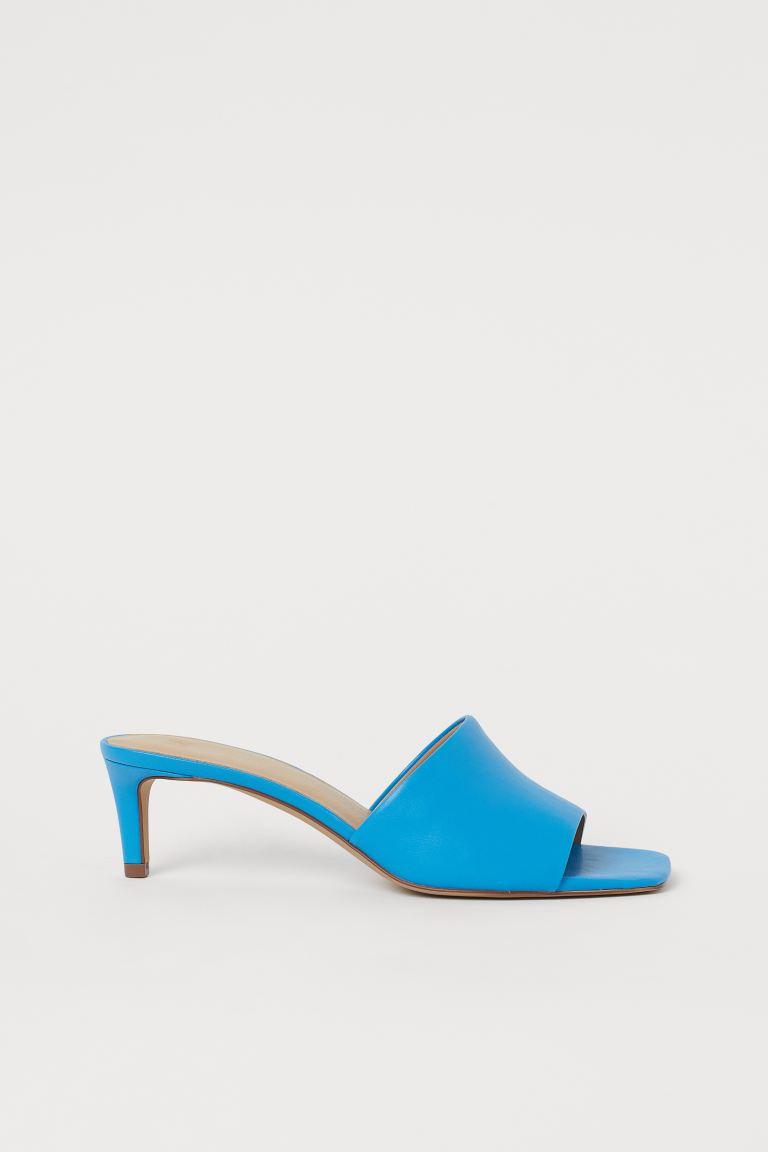 Mules - Blue - Ladies | H&M GB
