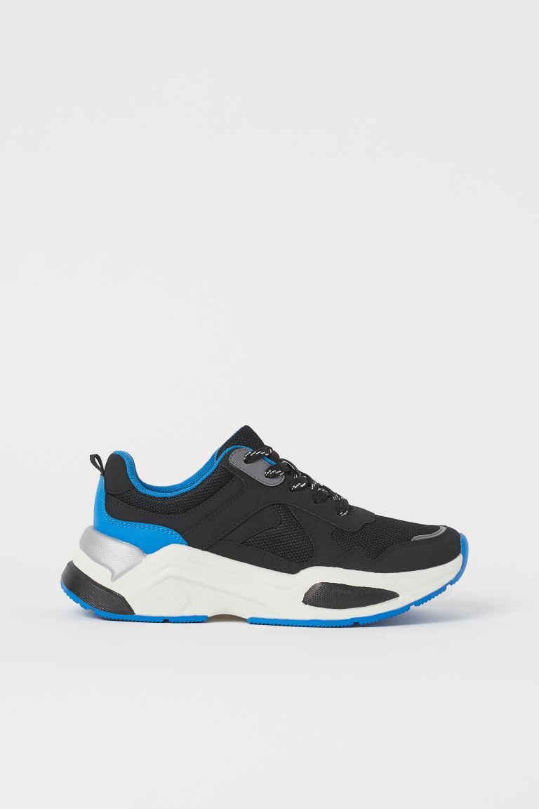 Sneaker - Schwarz/Blau - Kids | H&M AT