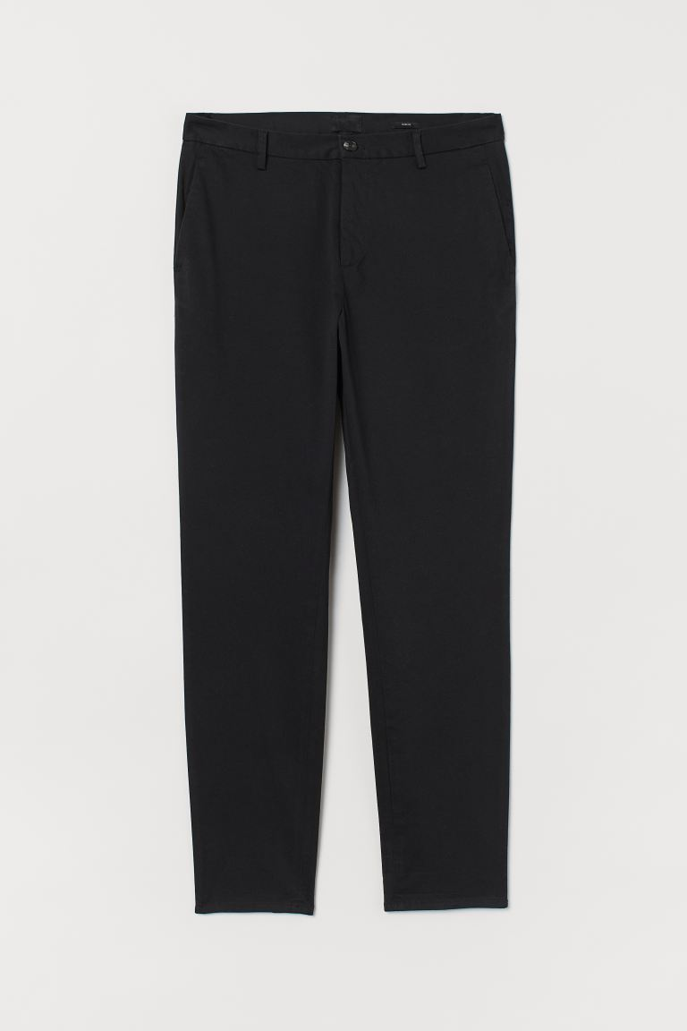 Chinos Slim Fit - Negro - Men | H&M MX