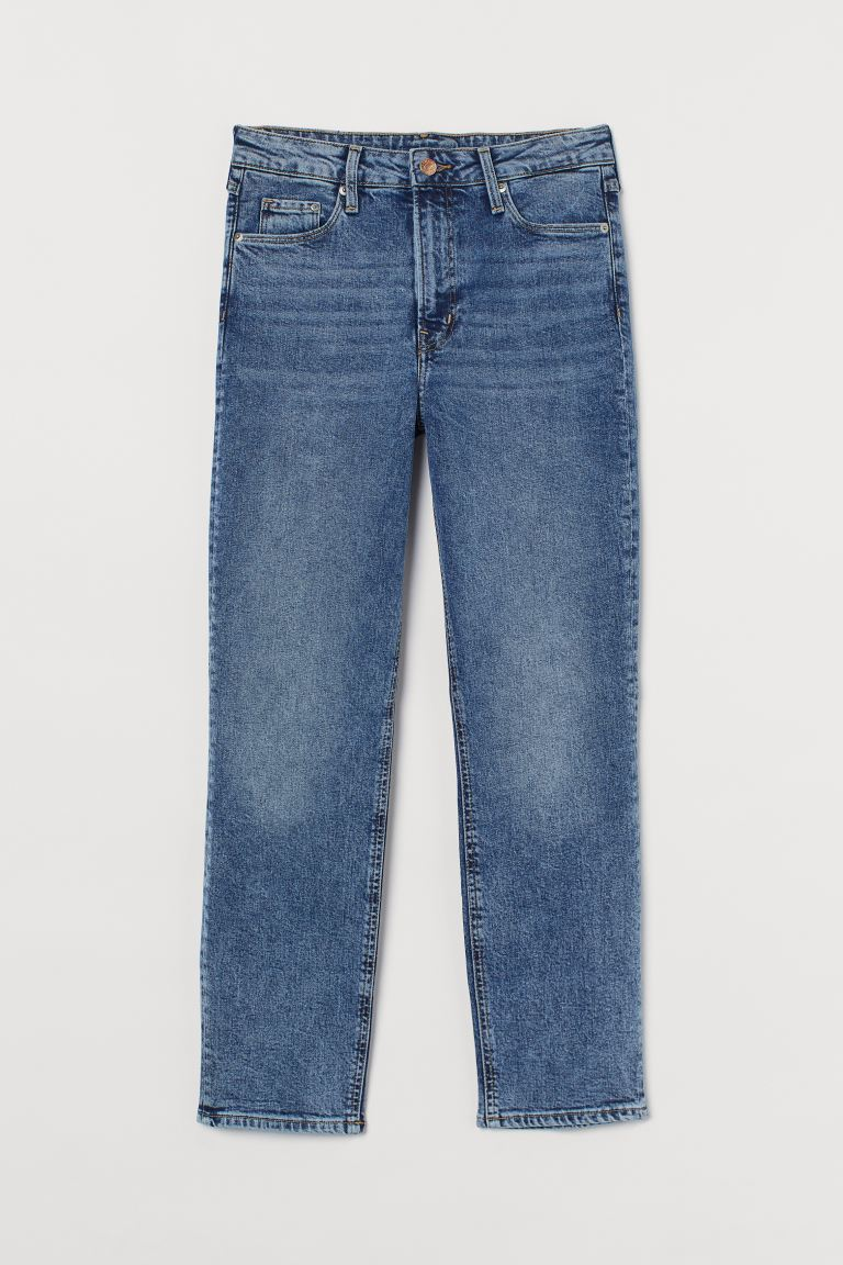 Vintage Slim High Ankle Jeans - Denim blue - Ladies | H&M AU