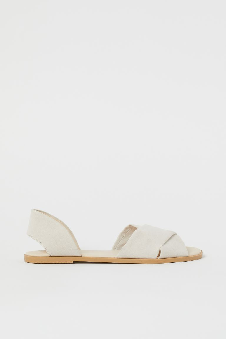 Sandals - Light beige - Ladies | H&M IN