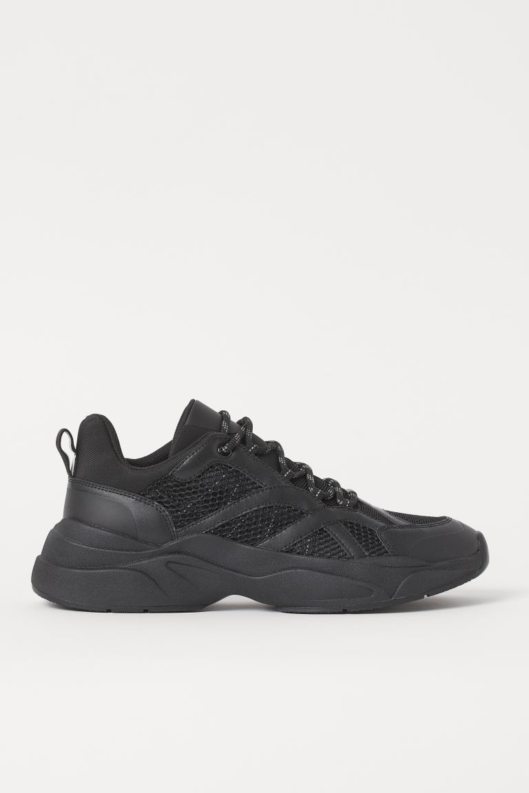 Sneakers in mesh - Nero - UOMO | H&M IT