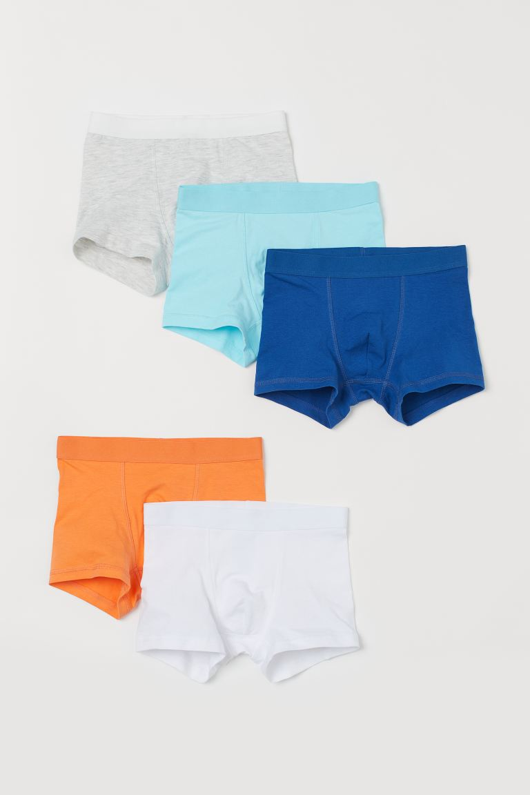 5-pack boxer shorts - Light turquoise - Kids | H&M
