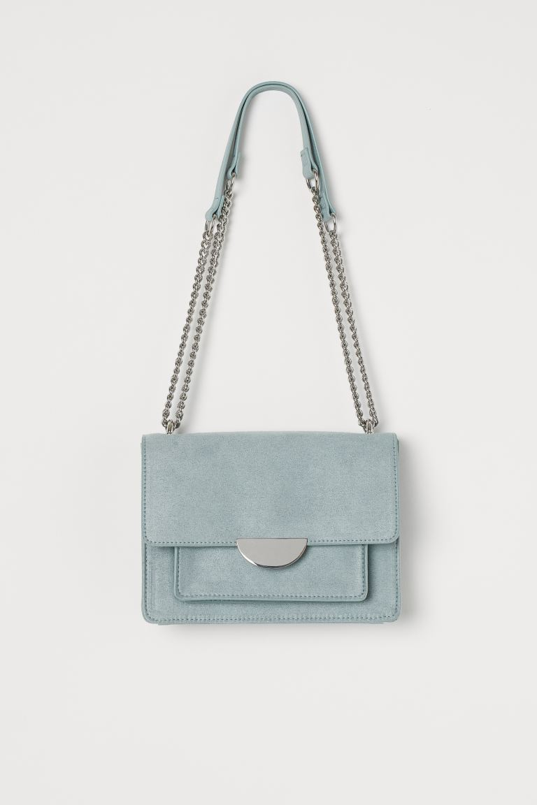 Small shoulder bag - Light turquoise -  | H&M