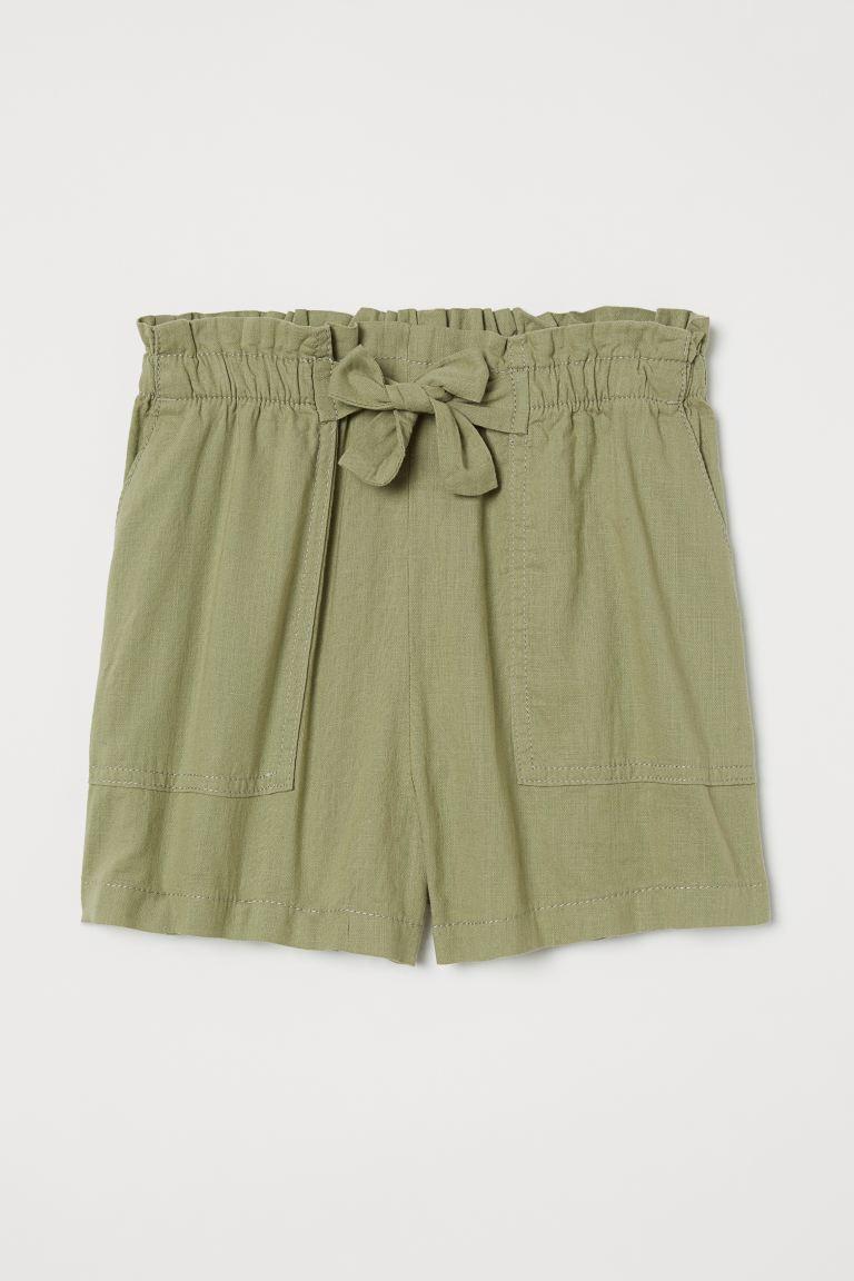 shorts dam hög midja