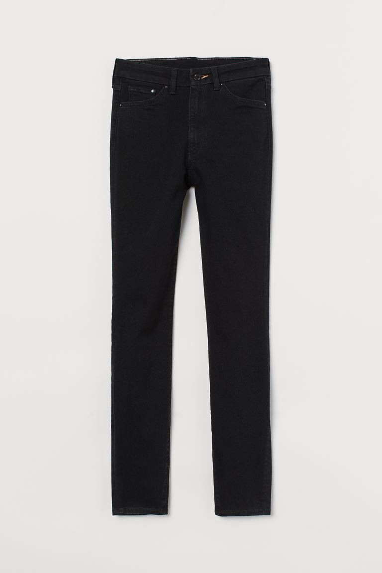 Embrace High Ankle Jeans - Svart - DAM | H&M SE