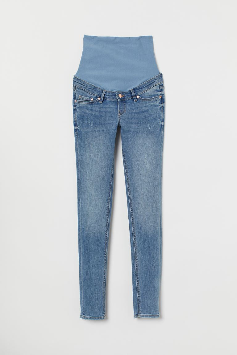 MAMA Skinny Jeans - Denim blue - Ladies | H&M US