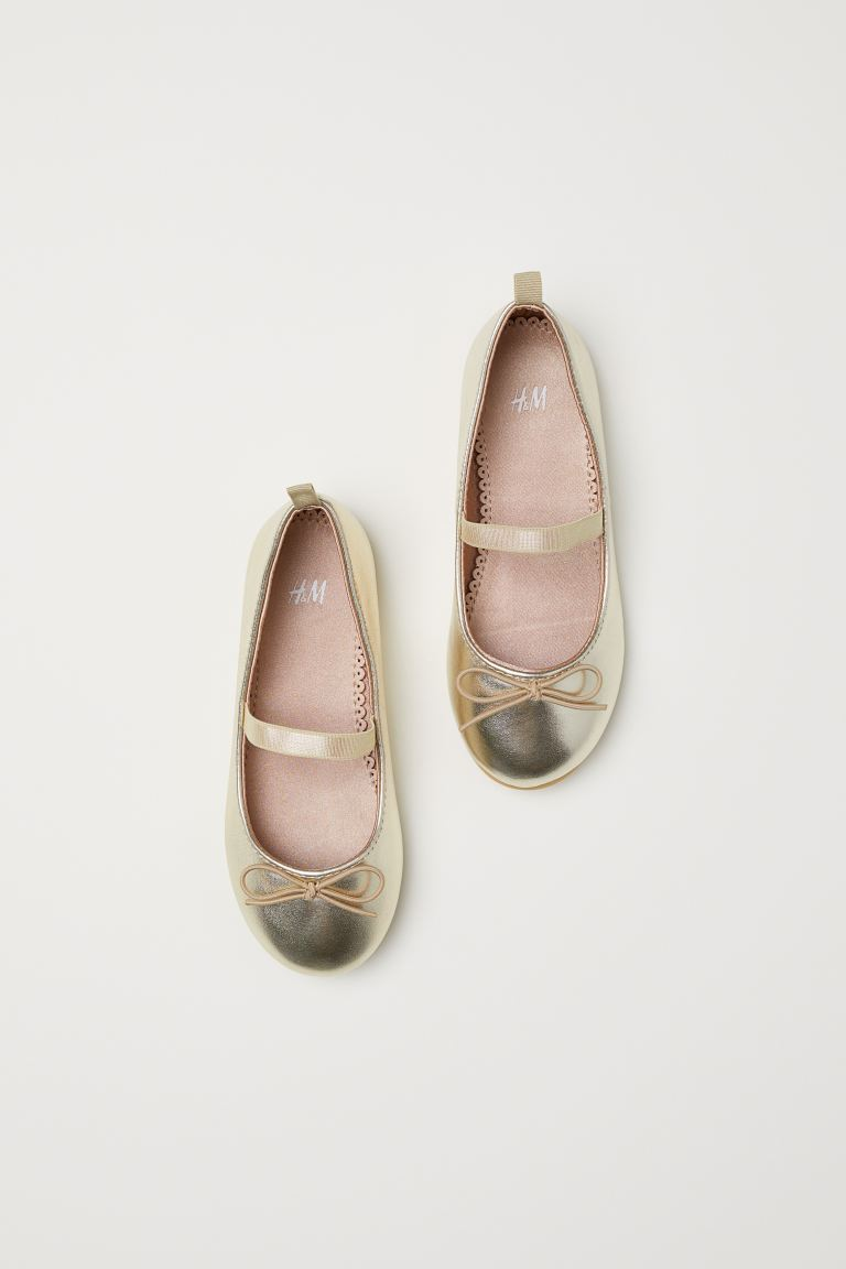 Ballet Flats - Gold-colored - Kids | H&M US