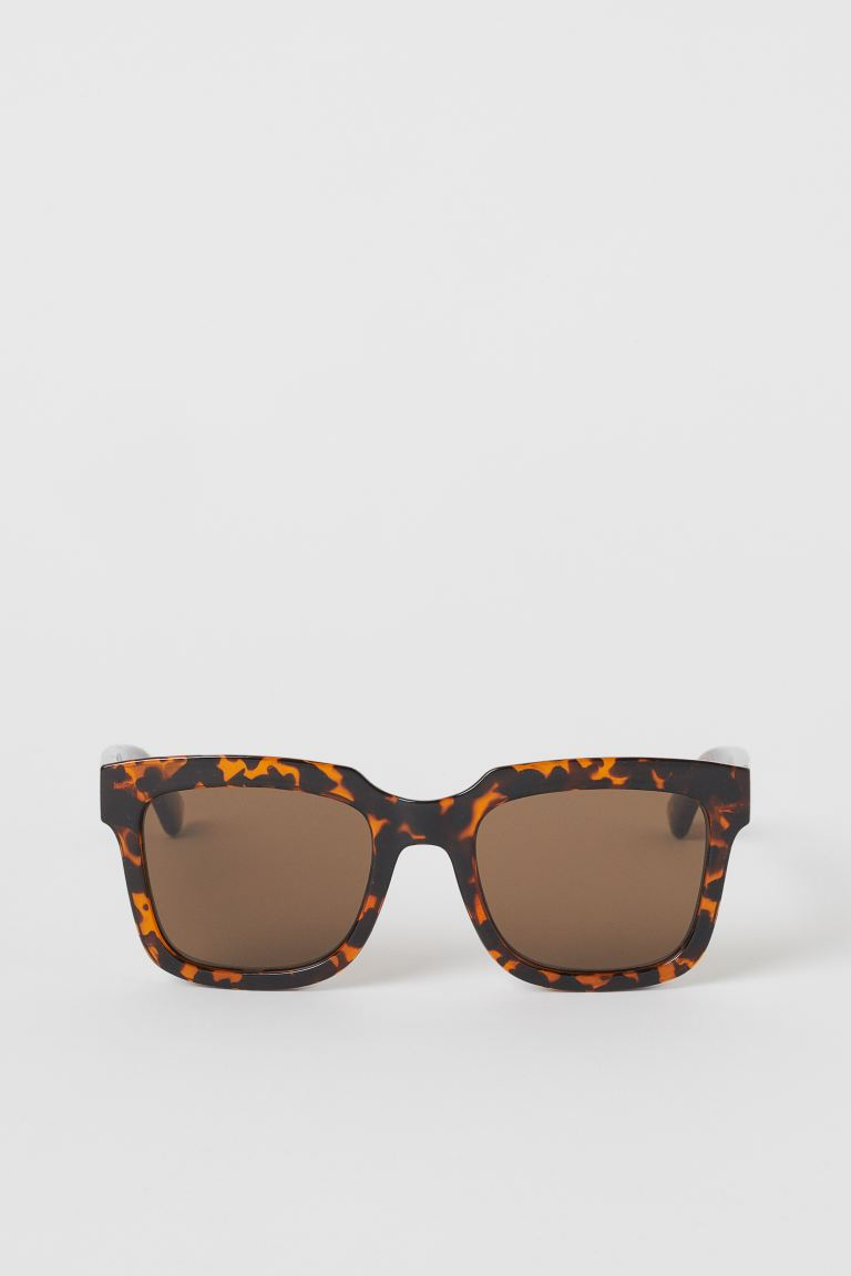 Sunglasses - Brown/Tortoiseshell-patterned - Men | H&M GB