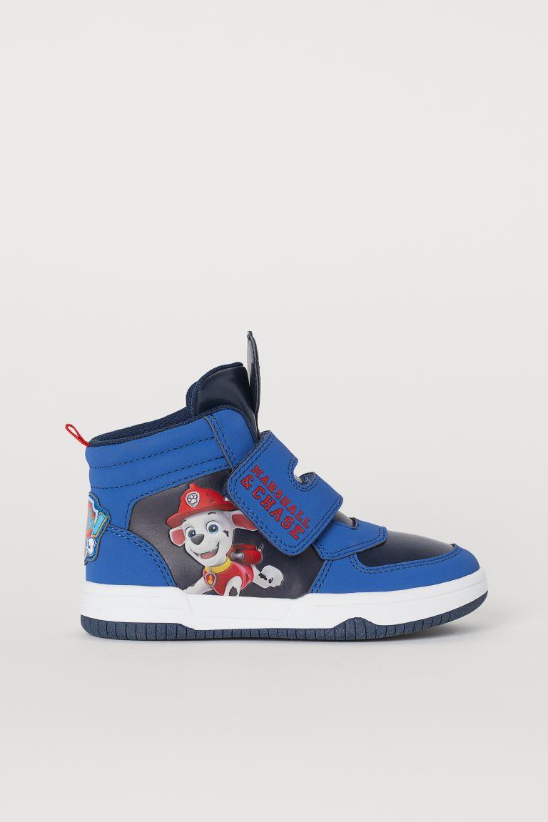 Chaussures De Sport Montantes Bleu La Pat Patrouille Enfant H M Ca