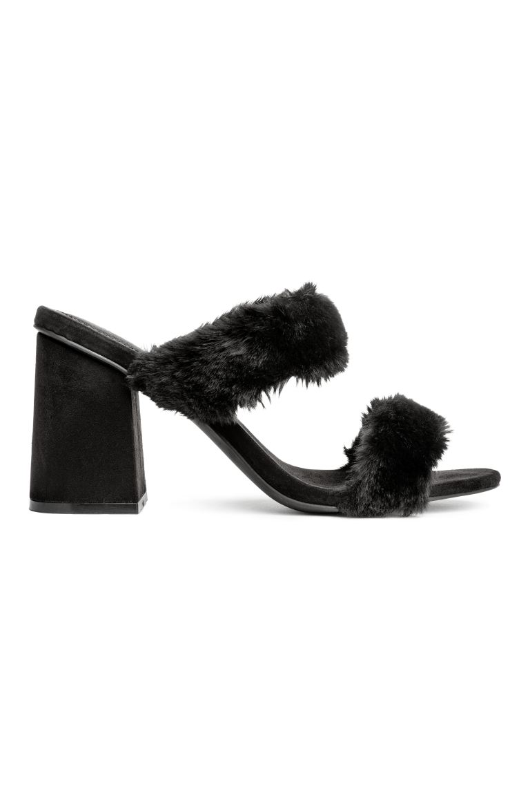 Mules - Black - Ladies | H&M CA