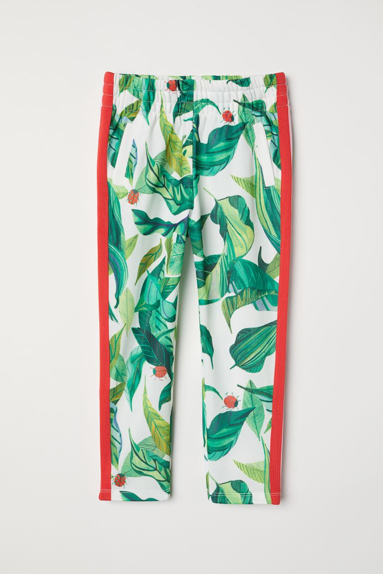 Sports Pants - White/patterned - Kids | H&M CA