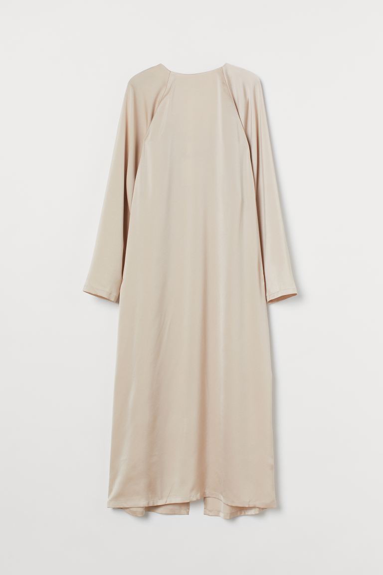 A-line dress - Light beige - Ladies | H&M