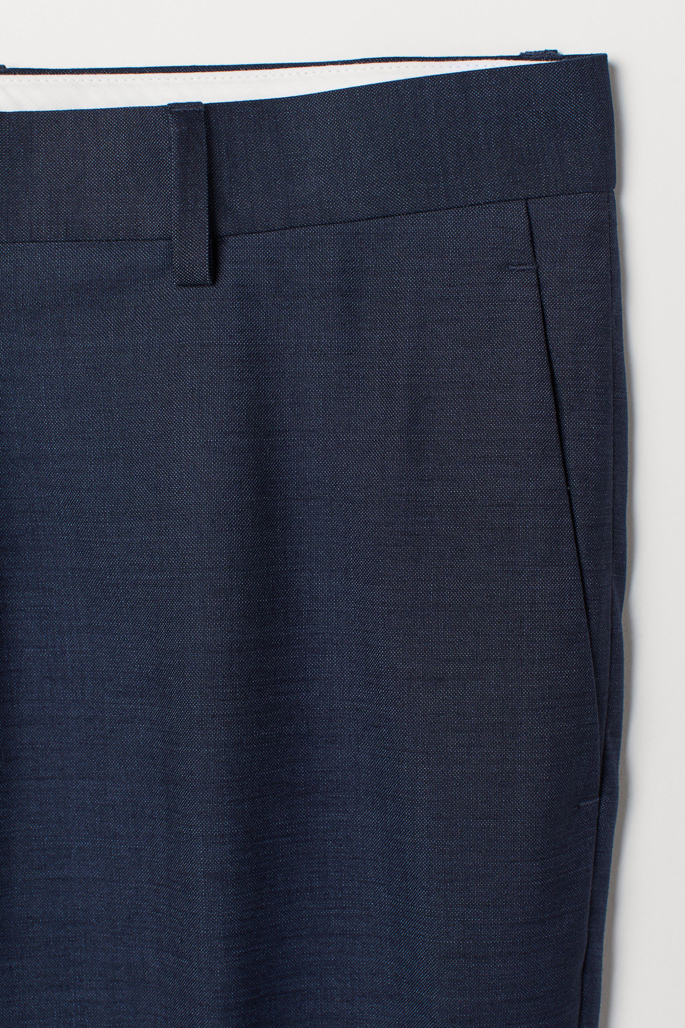 Skinny Fit Suit Pants