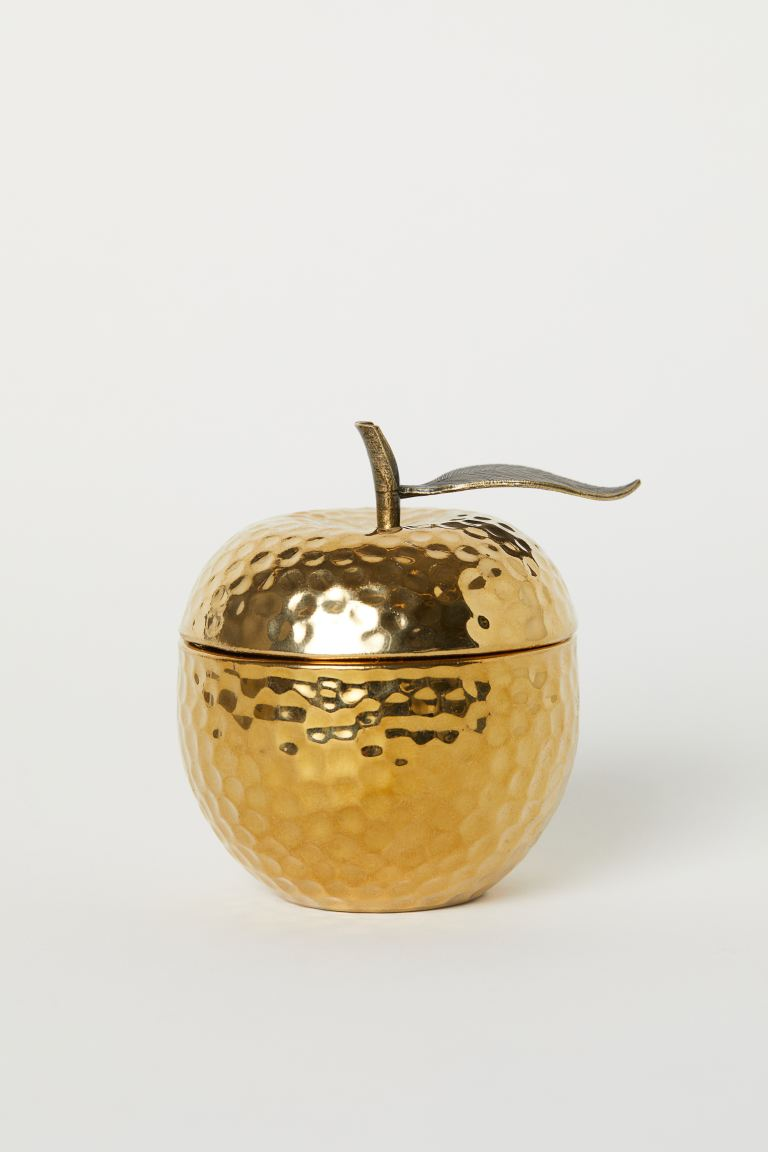 Scented Candle in Holder - Gold-colored - Home All | H&M US