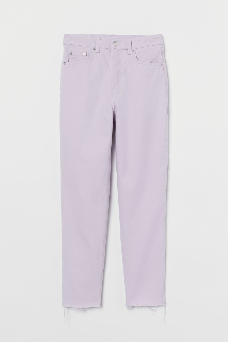 Slim Mom High Ankle Jeans - Lavanda - DONNA | H&M IT