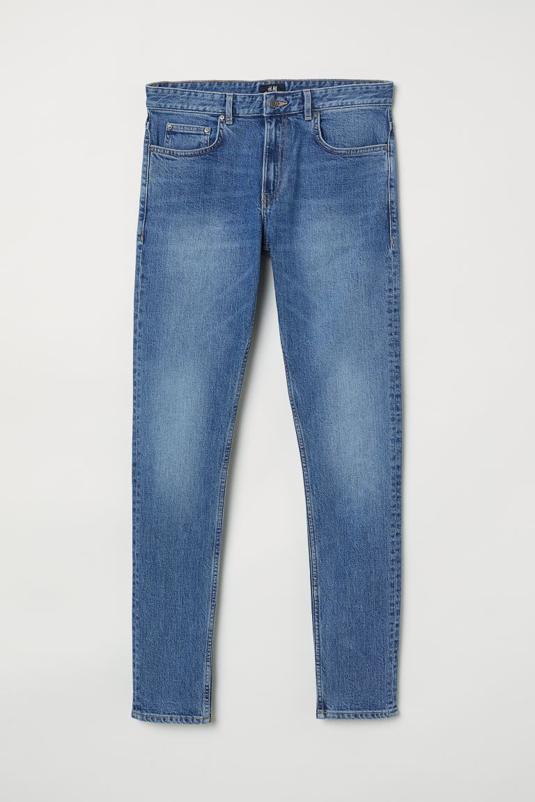 Skinny Jeans - Blu denim - UOMO | H&M IT