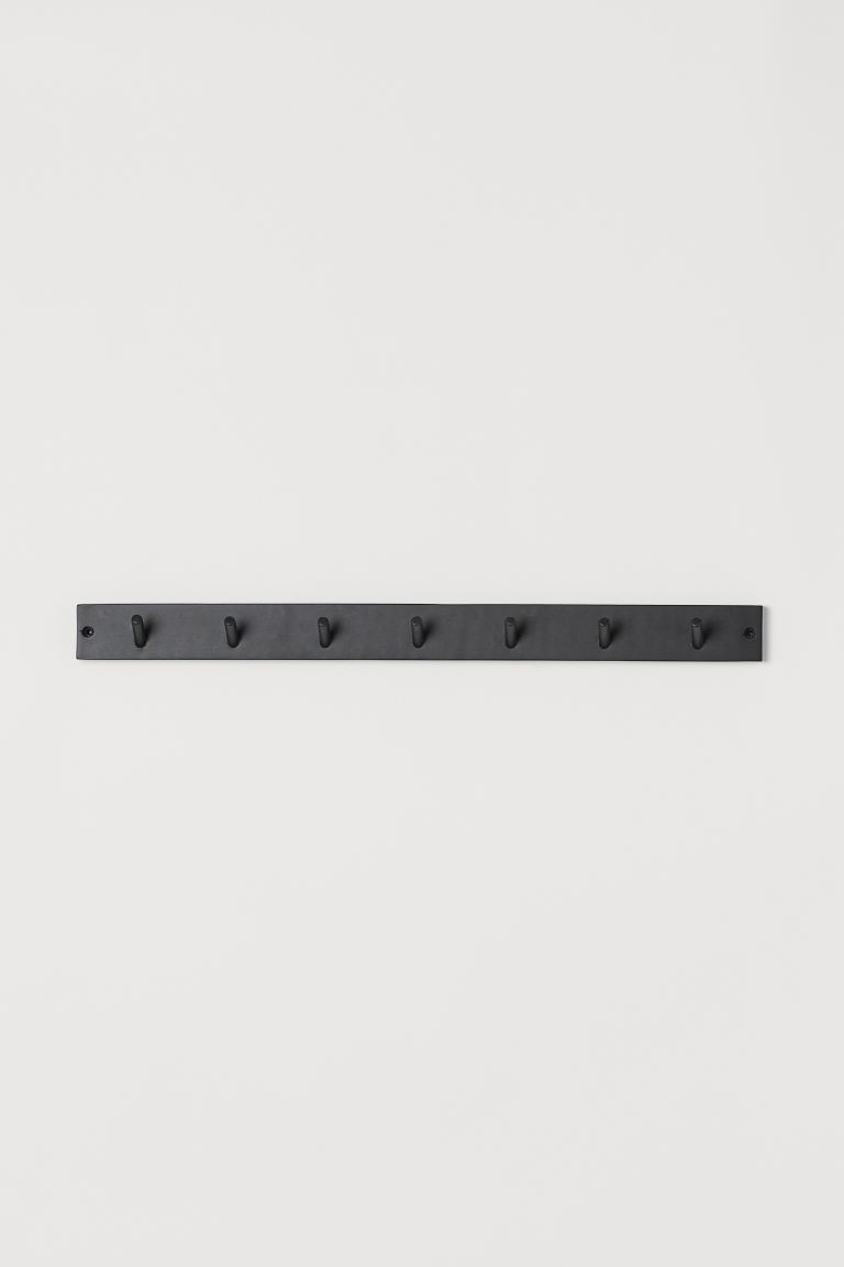 Wooden hanger - Black/Mango wood - Home All | H&M GB